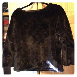 C Wonder Faux Fur Sweater